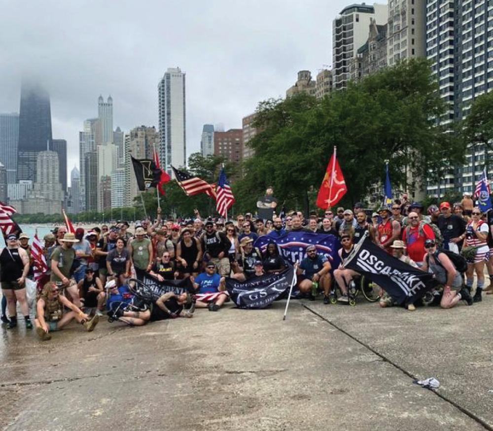 Irreverent Warriors Silkies Hike Chicago, Illinois