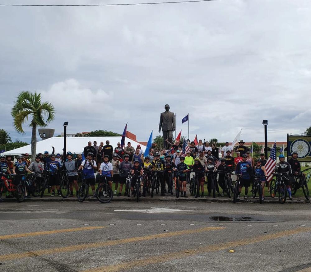 Irreverent Warriors Silkies Hike Guam