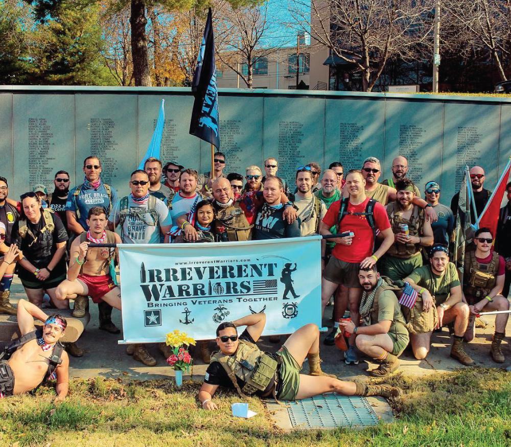 Irreverent Warriors Silkies Hike Kansas City