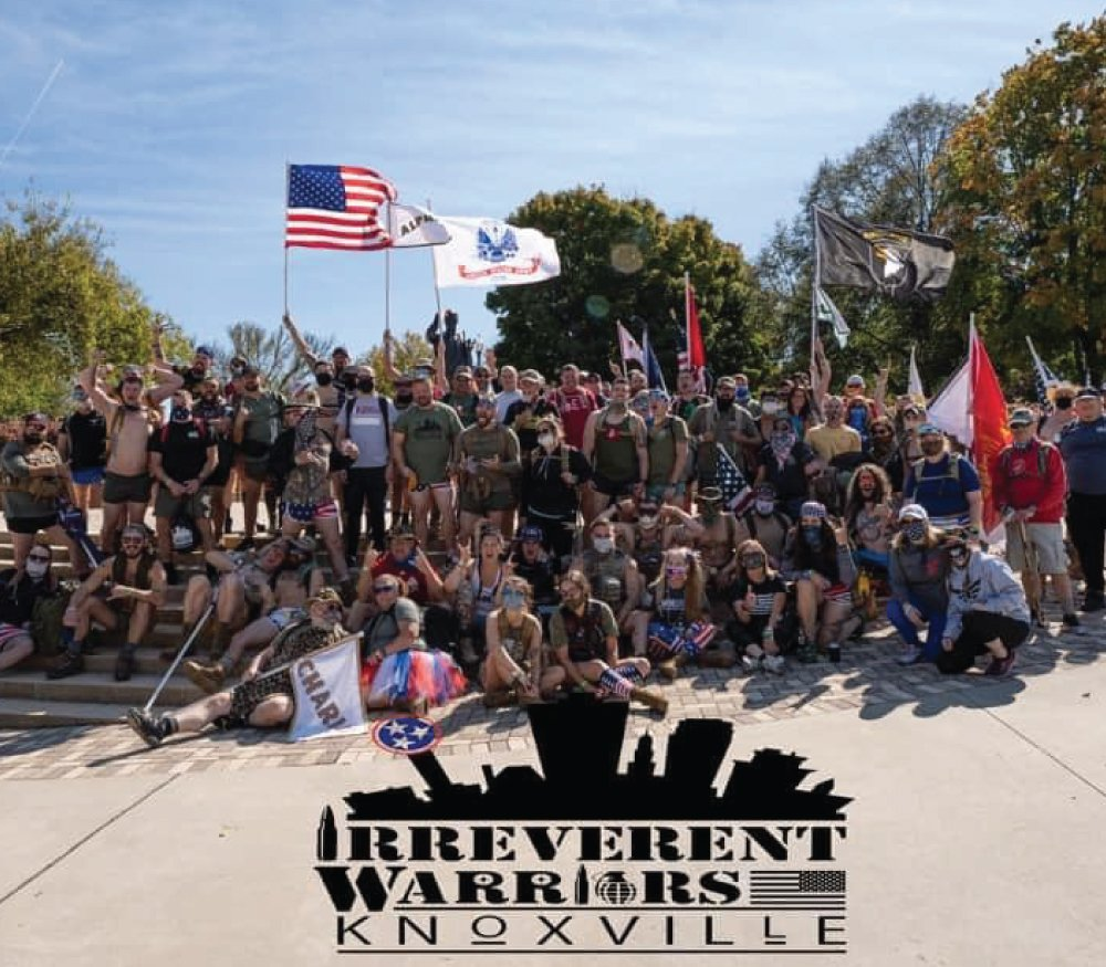 Irreverent Warriors Silkies Hike Knoxville, TN