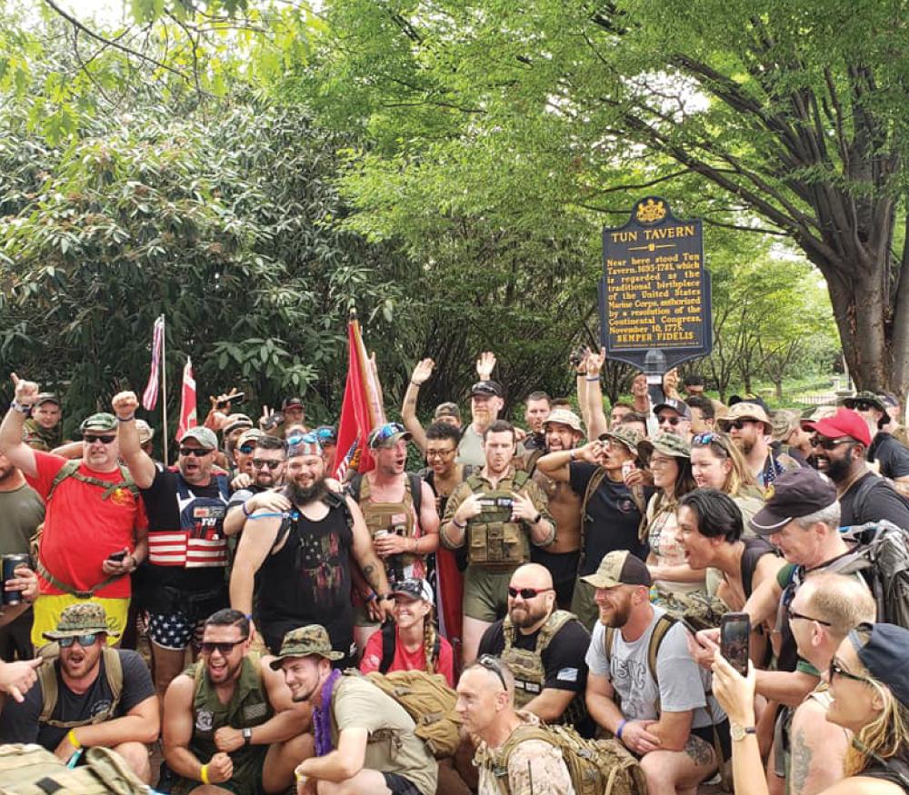Irreverent Warriors Silkies Hike Philadelphia, PA