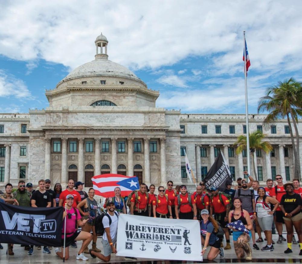 Irreverent Warriors Silkies Hike Puerto Rico