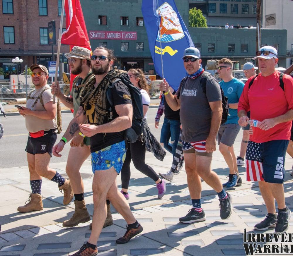 Irreverent Warriors Silkies Hike Seattle, WA