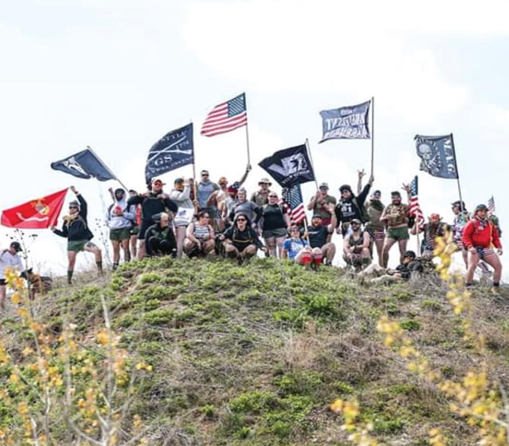 Irreverent Warriors Silkies Hike Des Moines, Iowa