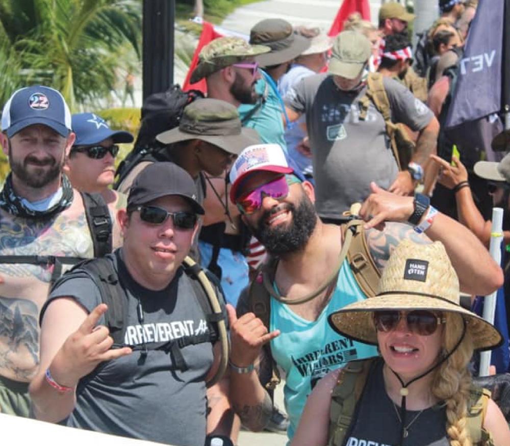 Irreverent Warriors Silkies Hike Ft. Lauderdale, Florida