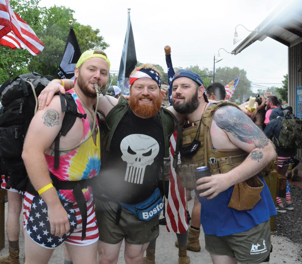 Irreverent Warriors Silkies Hike Milford, MA