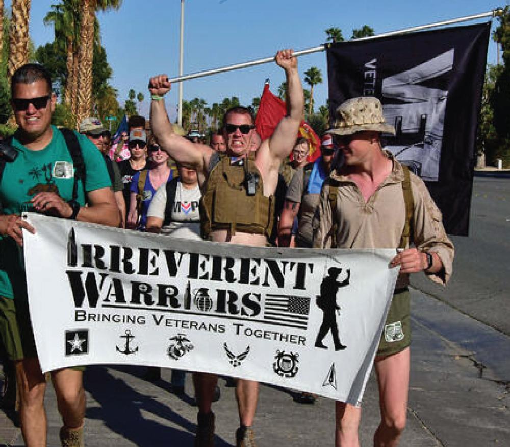Irreverent Warriors Silkies Hike Palm Springs, California