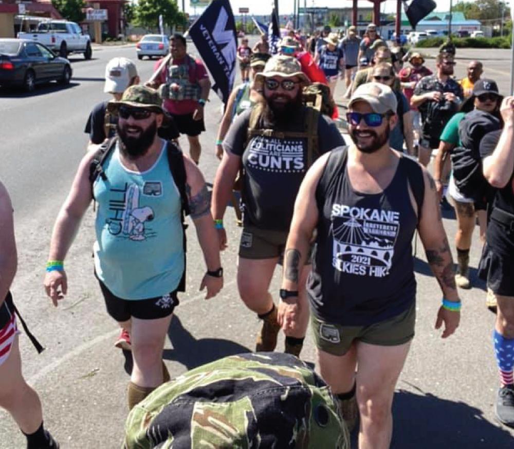 Irreverent Warriors Silkies Hike Spokane, WA