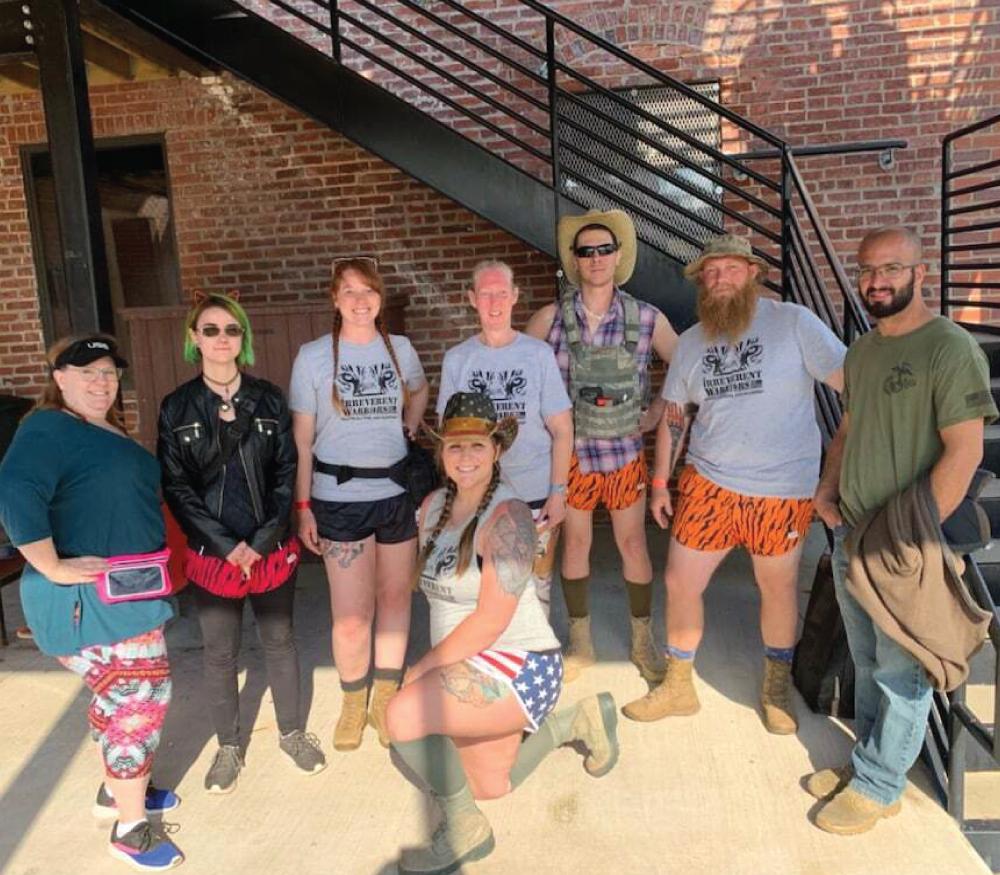 Irreverent Warriors Silkies Hike Tulsa, OK